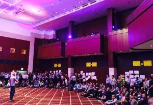 Open Space mit 600 Teilnehmern