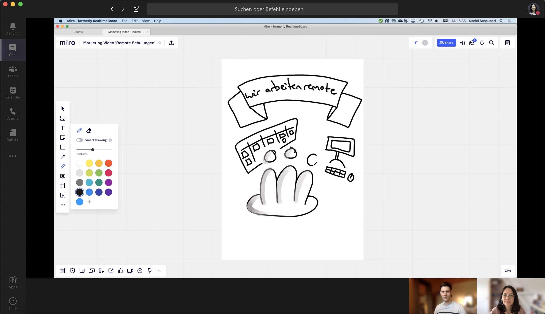 Remote Workshop oder virtuelles live-Training: Eine Anleitung zur Vorbereitung und für die Mitarbeit von Teilnehmern.