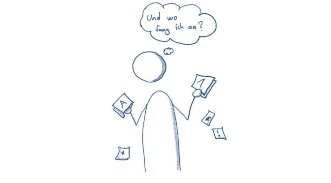 Priorisieren und richtig Nein sagen  – Ein Erfahrungsbericht