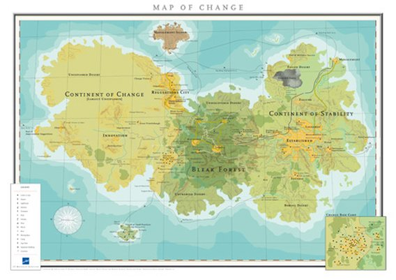 Map 401.Map Of Change Wibas